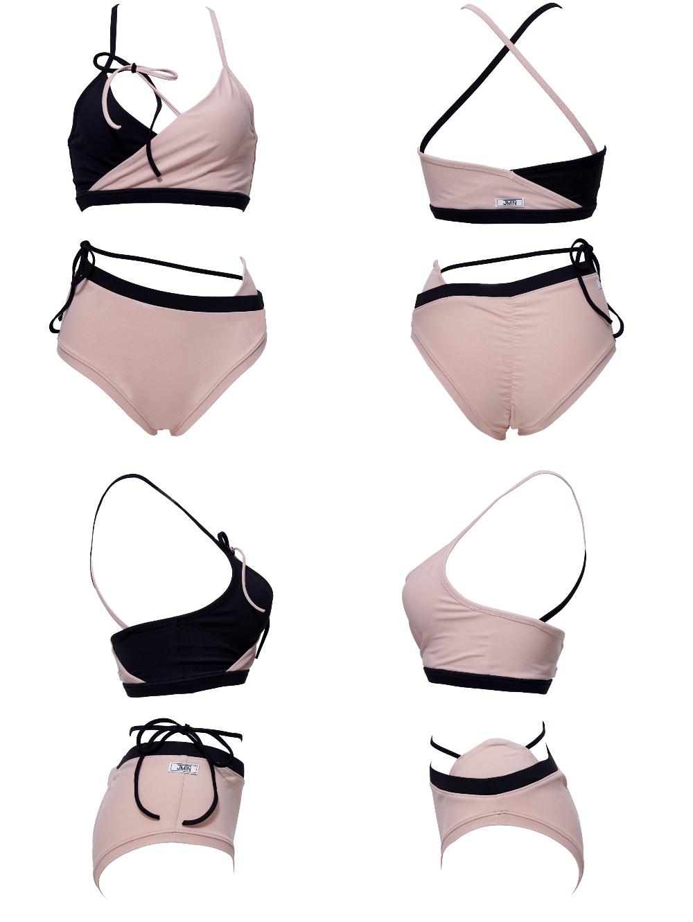 Swimwear/underwear baby pink color image-S1L22