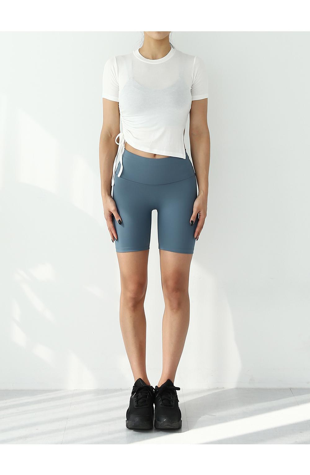 반팔 티셔츠 모델 착용 이미지-S1L15